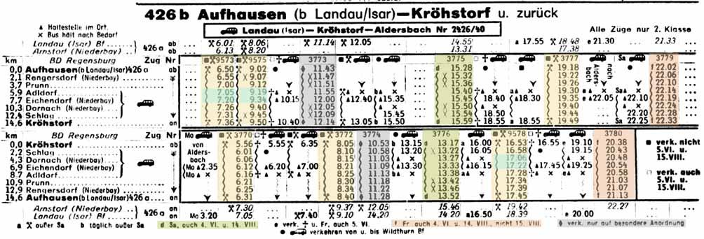DB-Kursbuch-Sommer-1958-Teil-4-Kbs-426b-Seite-330