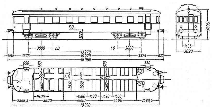 Die Vt 380 Und Die Steuerwagen Des Bw Konstanz Das 1958 Projekt