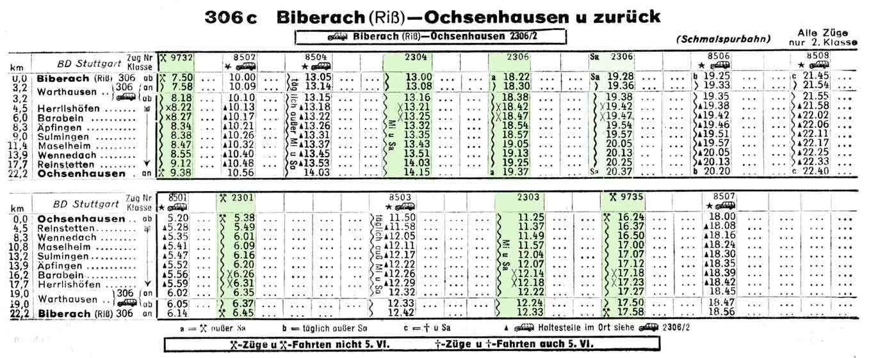Ochsenhausen-DB-Kursbuch-Sommer-1958-Teil-4-BaWu?Bay-Seite-071