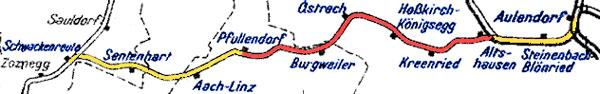 Pfullendorf-strecke