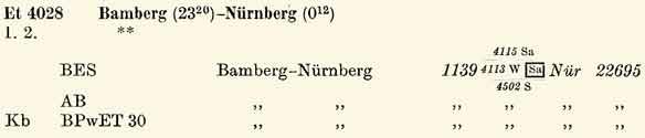 E4028-Bamberg-Nuernb-ZpAR-II-Sued-So58-Eilzuege-206-207