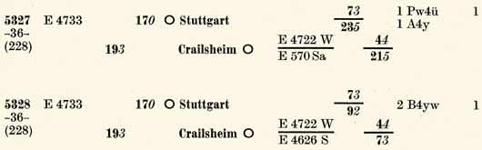 Umlauf-5327-5328-ZpAR-II-Sued-Wi57-Eilzuege-S210-211